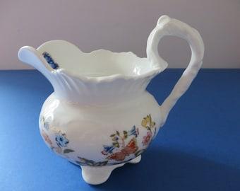 Aynsley vintage 1970's Cottage Garden jug
