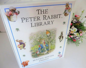 Beatrix Potter and The Peter Rabbit library set