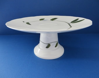 Royal Suffolk 1980's vintage cake stand