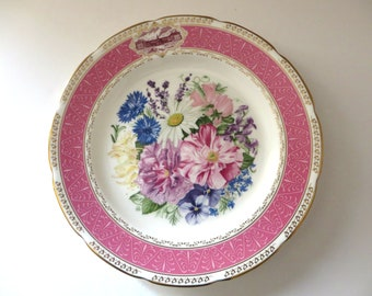 Vintage Wedgwood 1987 Chelsea Flower show decorative plate
