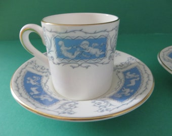 Coalport Revelry vintage coffee cup and saucer