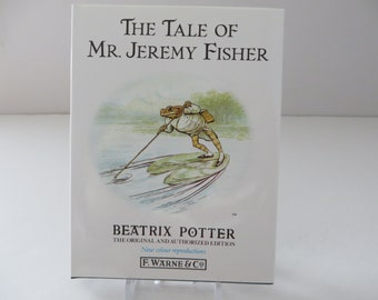 Beatrix Potter 1995 Tale of Jeremy Fisher vintage book