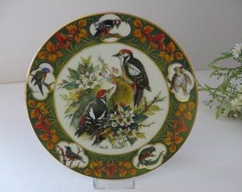 Schirnding Bavaria  vintage 1994 wild bird plate