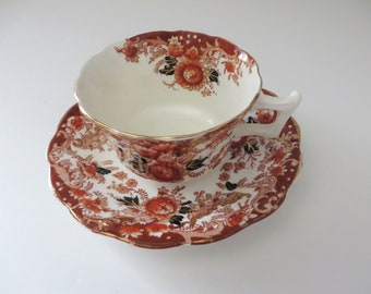 Wellington  antique 1900's teacup and saucer