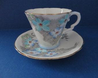Royal Stafford 1950's vintage coffee cup and saucer