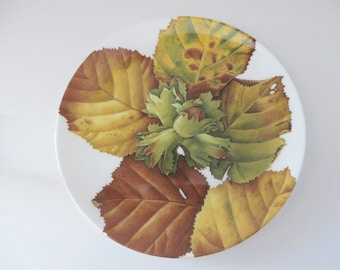Royal Doulton vintage 1990's Autumn fruits the Hazel  decorative plate