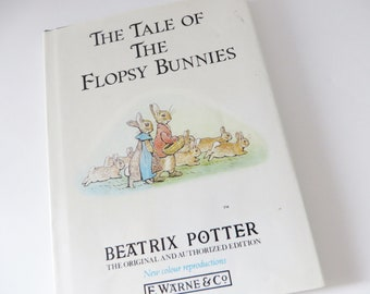 Beatrix Potter 1987 Tale of the Flopsy bunnies vintage book