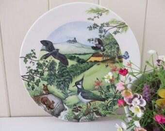 Wedgwood vintage Rolling Hills and Grasslands 1980's plate