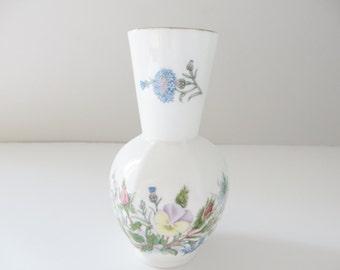 Aynsley vintage 1970's Wild Tudor posy vase