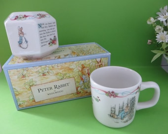 Wedgwood Peter Rabbit  vintage 1990's gift set