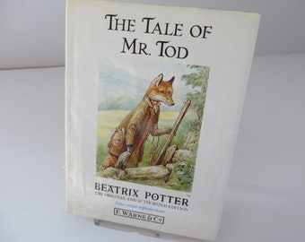 Beatrix Potter 1987 Tale of Mr Tod vintage book