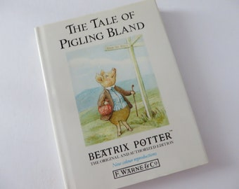 Beatrix Potter 1988 the tale of Pigling Bland vintage book