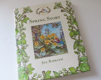 Brambly Hedge Spring story book