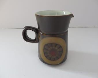 Denby ware vintage 1970's Arabesque  creamer jug