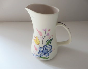 Poole Potter vintage floral 1970's jug