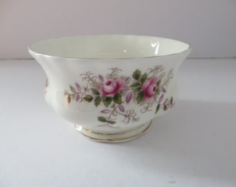 Royal Albert vintage 1970's Lavender rose small sugar bowl