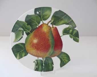 Royal Doulton Autumn fruits the Pear  vintage 1990's  decorative plate