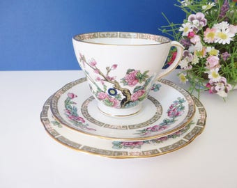 Duchess vintage 1960's Indian tree tea trio