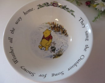 Pooh bear china/books