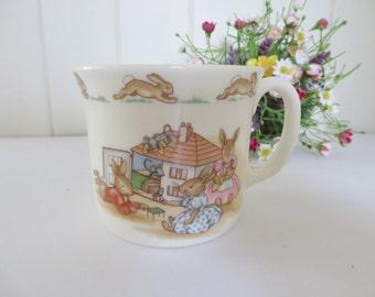Bunnykins vintage 1980's Dolls house mug