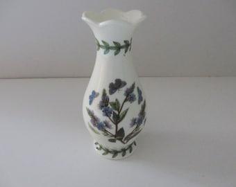 Portmeirion vintage 1970's blue botanics bud vase