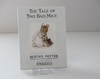 Beatrix Potter 1995 The Tale of two bad mice vintage book