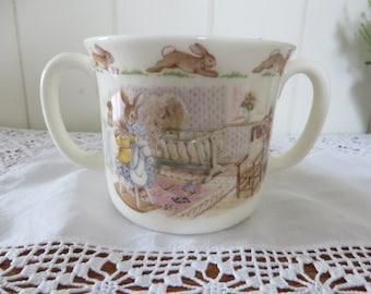Royal Doulton  Bunnykins vintage 1988 two handled mug