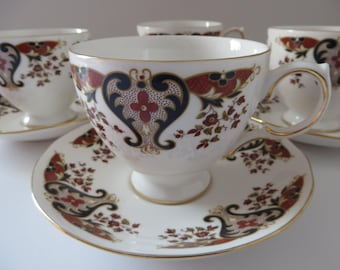 Colclough 1970's vintage Royale teacup and saucer