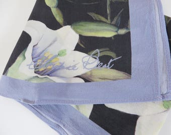 Chrissie Best designer floral scarf