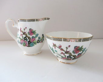 Royal Grafton vintage 1950's Indian Tree creamer set