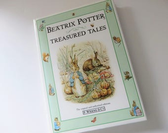 Beatrix Potter 1990's vintage Treasured tales book