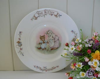 Royal Albert vintage 1986 Beatrix Potter Tom Kitten plate