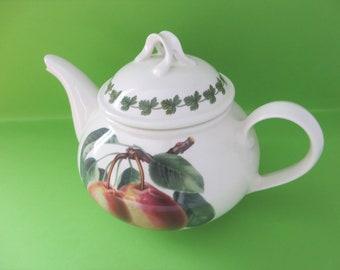 Portmeirion vintage 1980's Princess of Orange Pear teapot