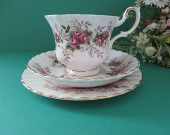 Royal Albert vintage 1970's Lavender Rose tea cup set