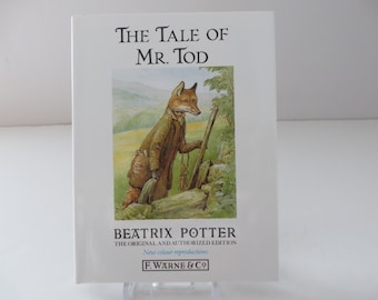 Beatrix Potter 1995 Tale of Mr Tod vintage book