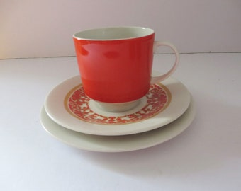 Royal Doulton vintage 1970's Seville tea trio