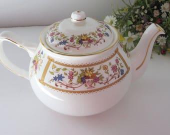 Duchess Verona vintage 1980's floral tea pot
