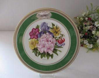 Royal Doulton vintage 1981 Chelsea Flower show plate