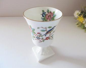 Aynsley vintage 1960's Pembroke floral vase