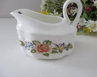 Aynsley vintage 1970's Cottage garden creamer jug