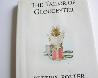 Beatrix Potter 1987 The Tailor of Glouceste vintage book