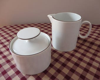 Thomas 1970's vintage  white creamer set