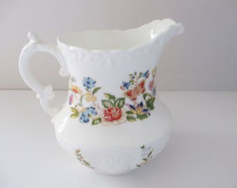 Aynsley vintage 1970's Cottage Garden jug