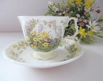 Brambly Hedge vintage 1983 Spring Season cup and saucer