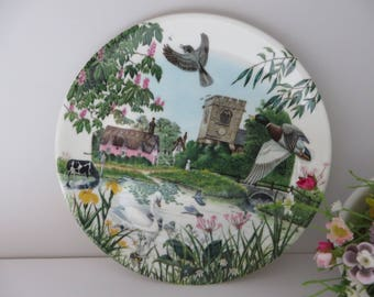 Wedgwood vintage 1990's The Village Pond plate