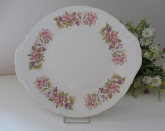 Colclough vintage 1970's Wayside cake plate