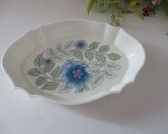 Wedgwood 1980's vintage Clementine pin dish