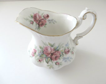 Royal Standard vintage 1950's Rambling Rose creamer jug