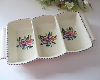 Poole Pottery vntage 1960's  snacks dish