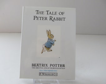 Beatrix Potter 1995 tale of Peter Rabbit vintage book